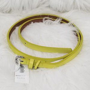 🆕️ Old Navy | Thin Yellow Belt Size M/L New